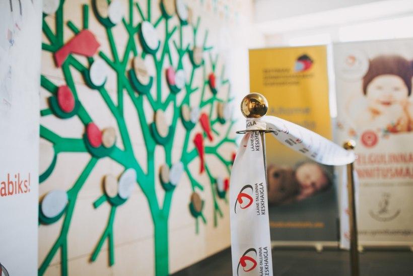 GALERII | Pelgulinna sünnitusmajas avati haigla toetajate tänusein