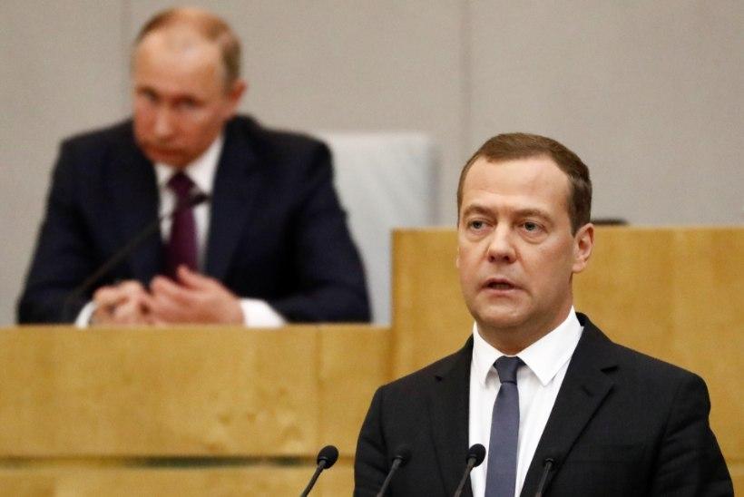 MUUTUSTETA: Dmitri Medvedev kinnitati Venemaa peaministriks