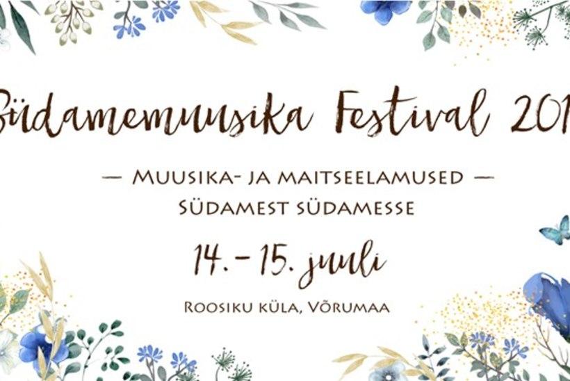 Südamemuusika festival võlub mõnusa muusika ja maitsetega!