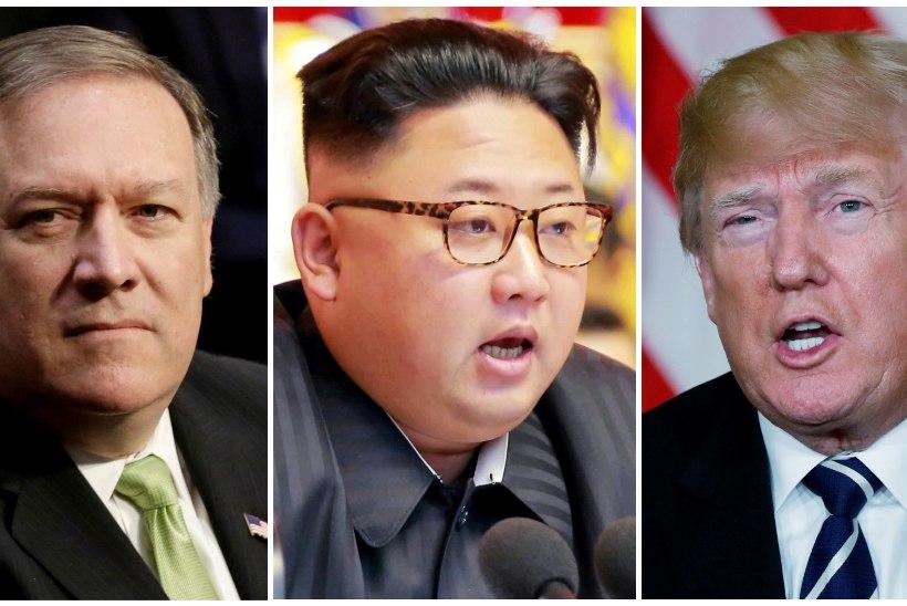 Pompeo sõitis taas Põhja-Koreasse