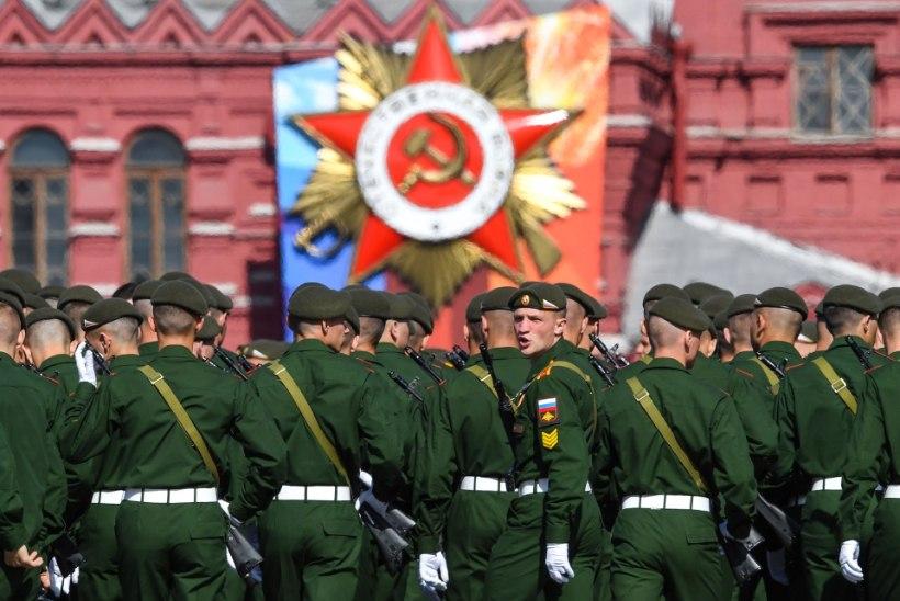 VIDEO | Moskva Punasel väljakul peeti võidupüha paraadi