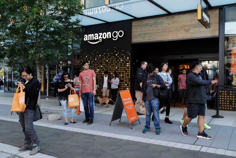 Veebipood Amazon ei ole tasunud sentigi tulumaksu