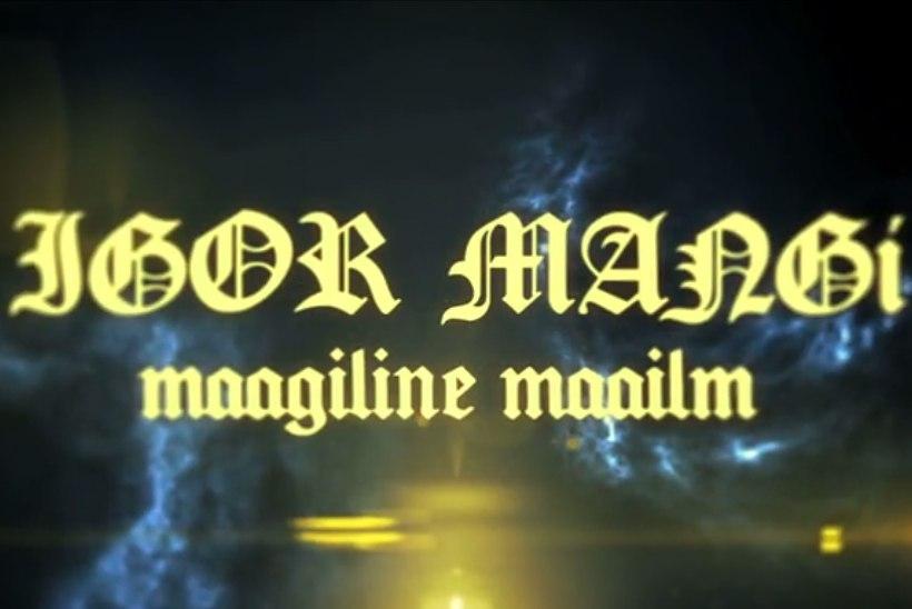 VIDEO   TV3 kaevas välja aastatetaguse dokumentaalfilmi Igor Mangist