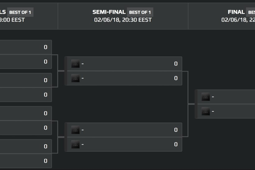 Gamerly e-spordiliiga teise turniiri veerandfinalistid on selgunud