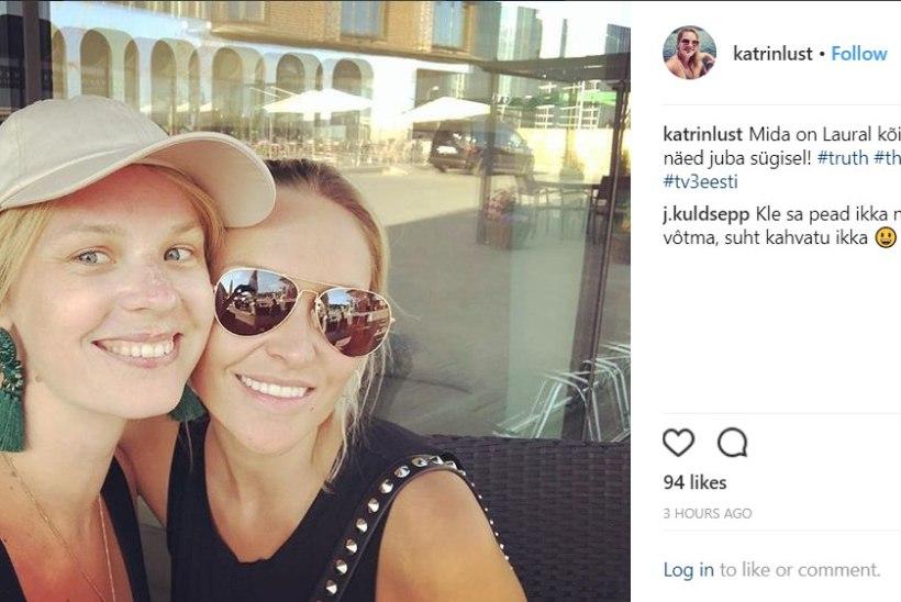 RÄÄGIB KÕIK ÄRA? Kupeldamisskandaali sattunud Laura Kõrgemäe poseerib sotsiaalmeedias Katrin Lustiga
