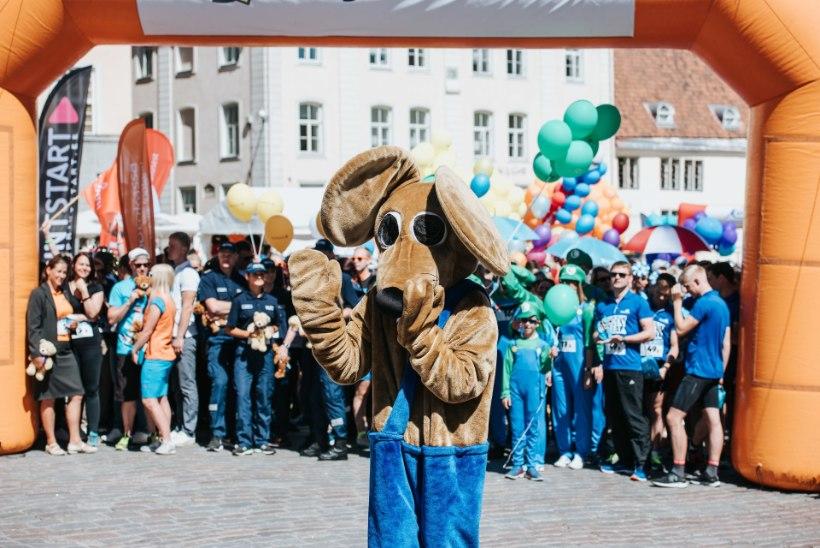 Rat Race Tallinn 2018 stardis olid kohal Eesti parimad jooksjad