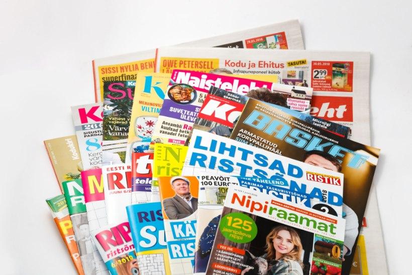 Õhtulehega ühinesid mitu menukat ajakirja ja suurim toiduportaal