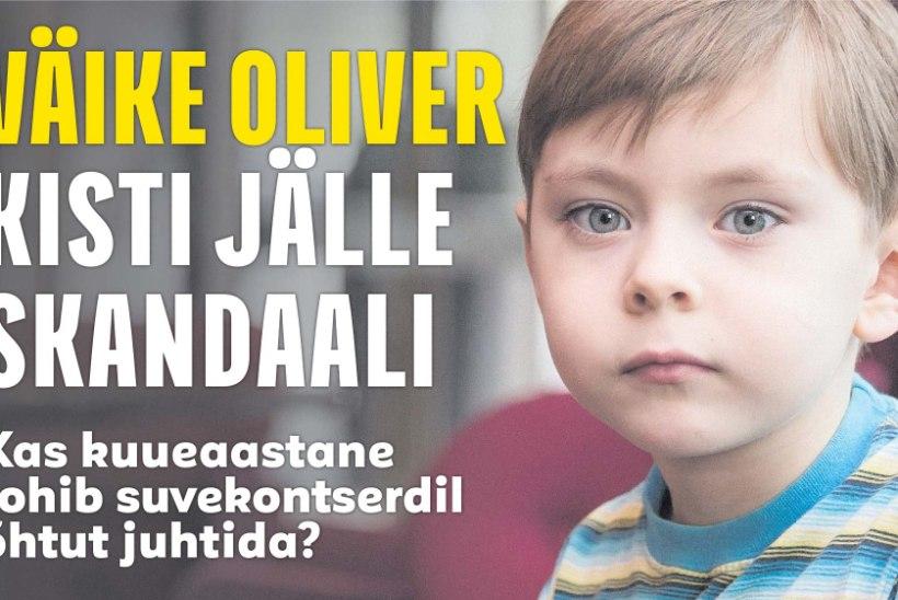 JUHTUM LÕPETATUD: väike Oliver võib õhtujuhina töötada!