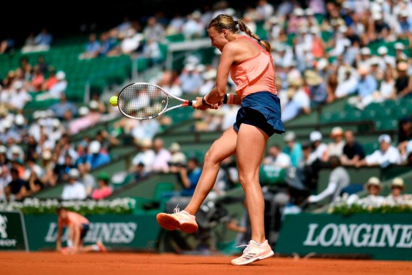 Selgus Anett Konteveidi esimene vastane tähendusrikkal turniiril