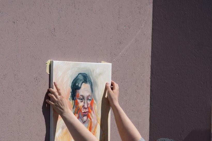 GALERII | Tallinn Art Week muutis Vabaduse väljaku ainulaadseks kunstisaaliks