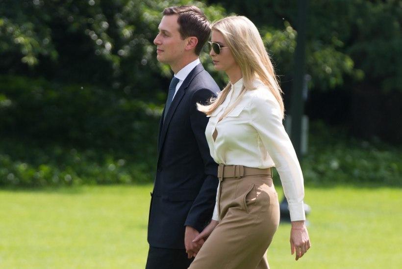 Trumpi tütar ja väimees teenisid mullu 82 miljonit dollarit tulu