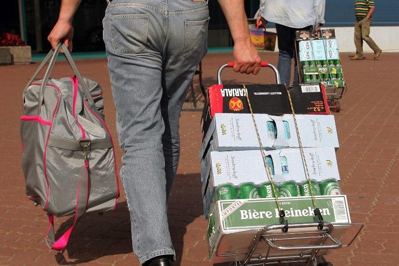 VIINARALLI PEATUS: soomlased tõid Eestist alkoholi rekordiliselt madalas koguses