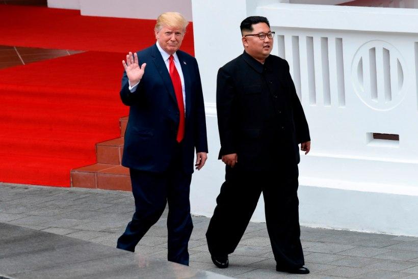 KOKKUVÕTE: TOP 7 hetke Kimi ja Trumpi suurkohtumisest