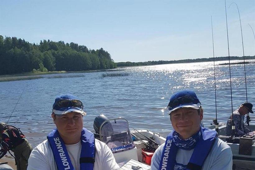 Team Lowrance Paunküla veehoidlal