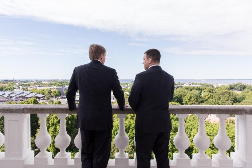 GALERII JA VIDEO | Peaminister Ratas kohtus Madalmaade kuningas Willem-Alexanderiga
