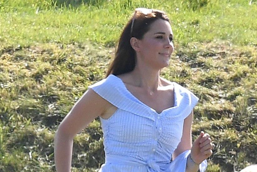 Kate, kuhu ruttad sa? Vaata, kelle embusesse jooksis Williami abikaasa!