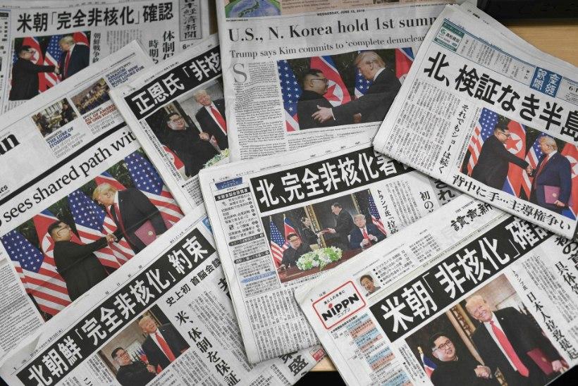 PILTUUDIS | Põhja-Korea ajalehtede esiküljed pärast Trumpi ja Kimi kohtumist