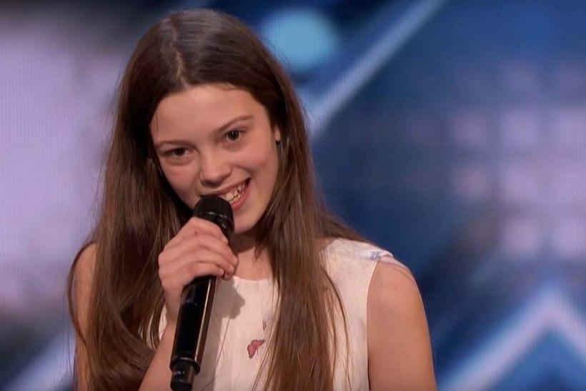 VAPUSTAV! Uje 13aastane koolitüdruk lõi USA talendisaate žürii pahviks