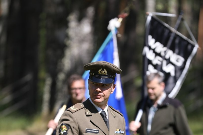 GALERII | Värskas avaldati austust 1941. aastal küüditatud ja hukatud Eesti ohvitseridele