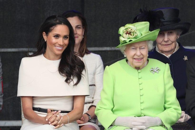 Elizabeth II võttis Meghani esmakordselt kuninglikule visiidile
