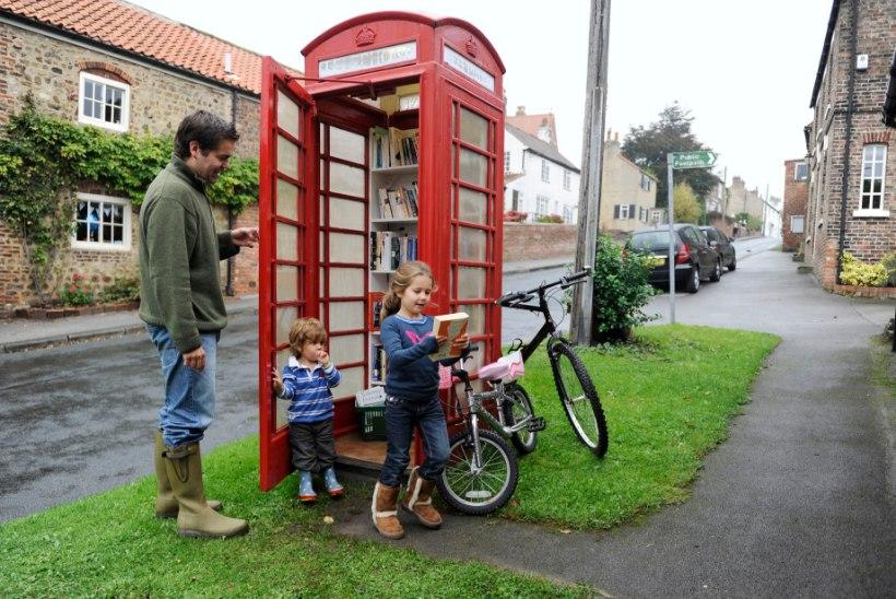 Diskoputka, raamatukogu... Mida teevad britid vanade telefoniputkadega?