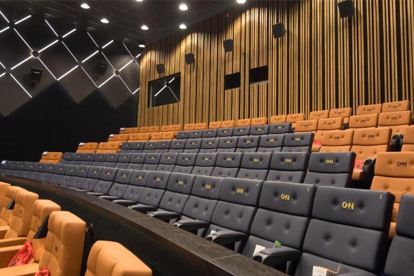 GALERII   Valmis! Pool aastat uuendatud Tartu Cinamoni kino täies hiilguses