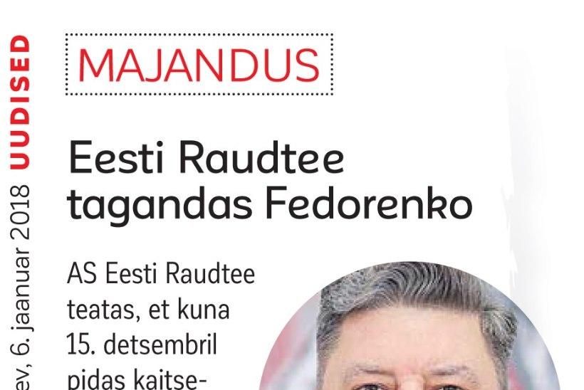 Eesti Raudtee korruptsiooniloo niidid jooksevad Venemaale