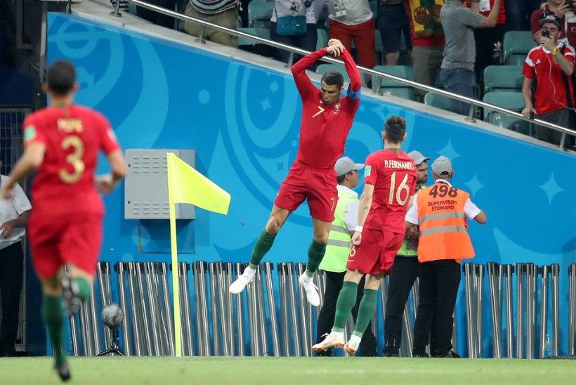 NII SEE JUHTUS | Uruguay ja Iraan alustasid MMi võiduga, Ronaldo viigistas Hispaaniaga
