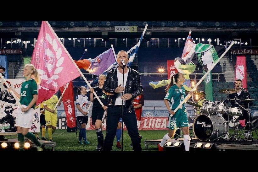 VIDEO | Black Velveti esimeses muusikavideos teeb kaasa Eesti jalgpallurite koorekiht