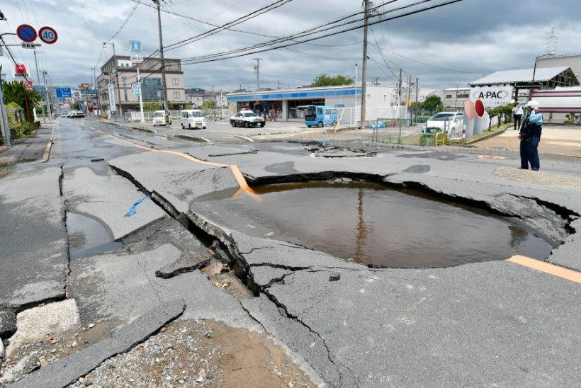 VIDEO JA FOTOD | Jaapanit tabas maavärin, on hukkunuid