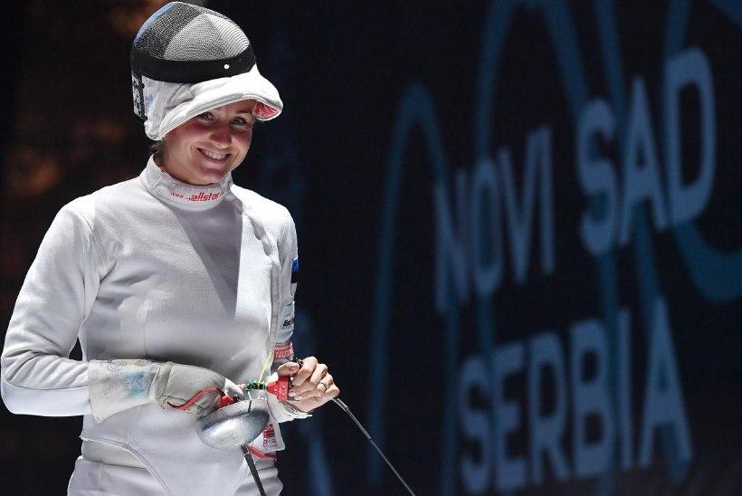 Finaalis kaasmaalasele kaotanud Kristina Kuusk: minu jaoks on iga medal kulla hinnaga