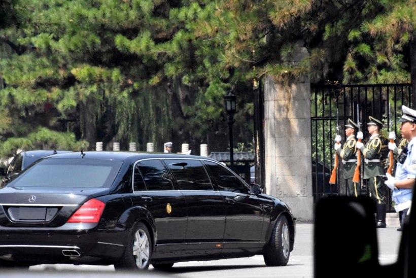 Kim Jong-un sõitis taas Hiinasse