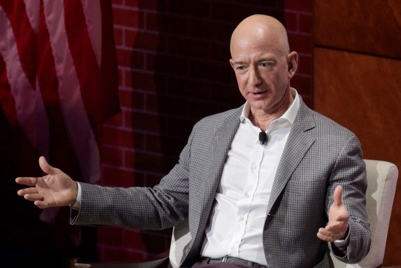 Amazoni asutajast sai maailma rikkaim inimene