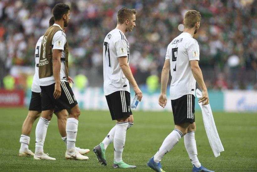 Kas Saksamaad ootab sama saatus, mis kaht eelmist maailmameistrit?
