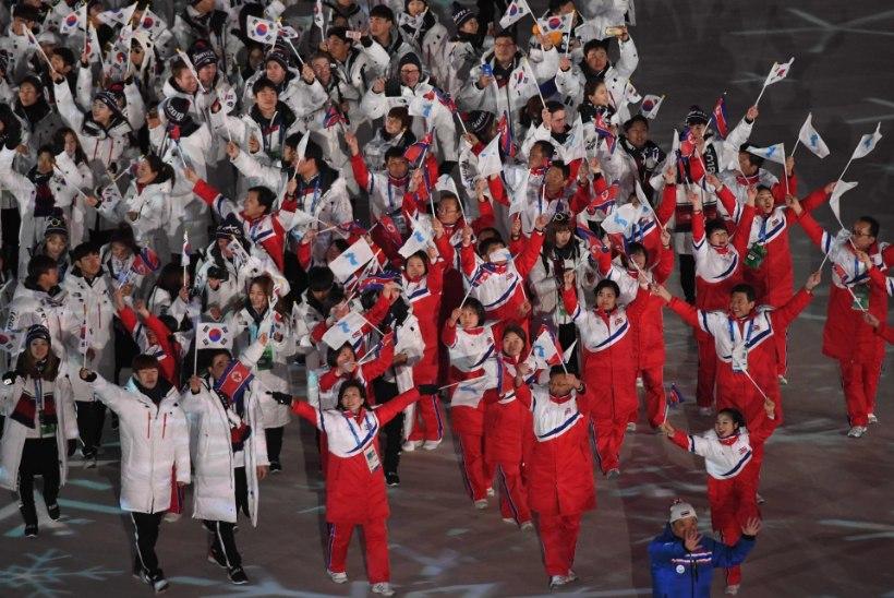Põhja- ja Lõuna-Korea ühendavad Aasia mängudeks jõud!