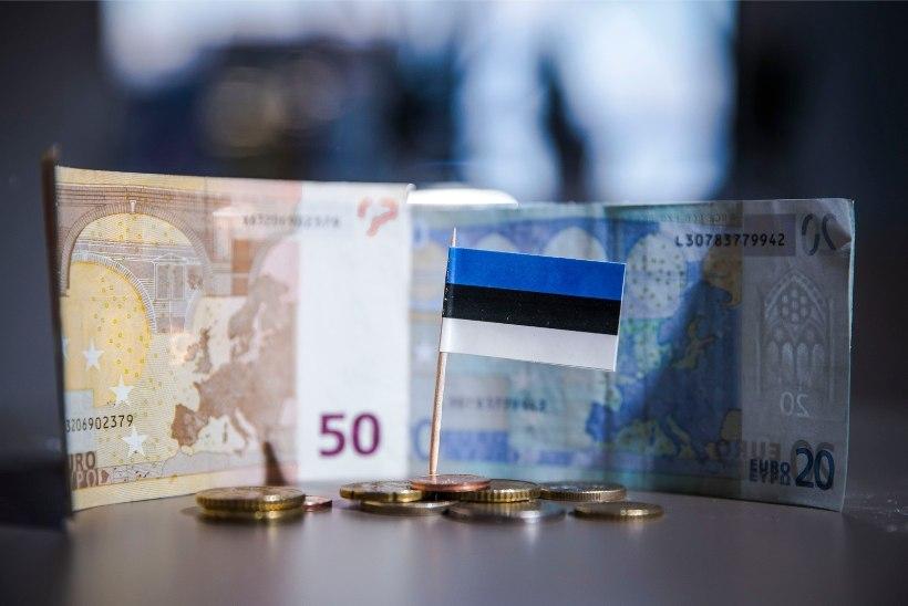 Eesti rabeles viie vaesema riigi seast välja