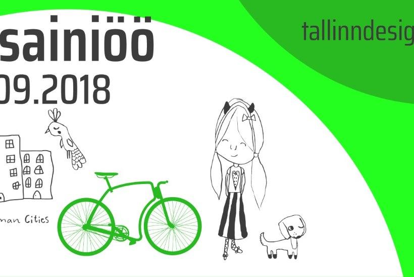 XIII Disainiöö haarab terve Tallinna