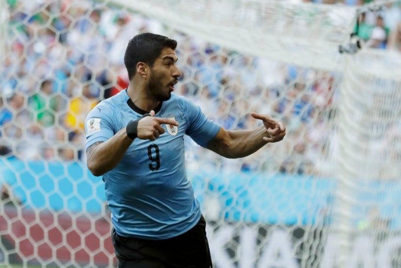 0a911975894 NII SEE JUHTUS | Jalgpalli MM: Portugal alistas Ronaldo tabamusest Maroko,  Uruguay saudid.