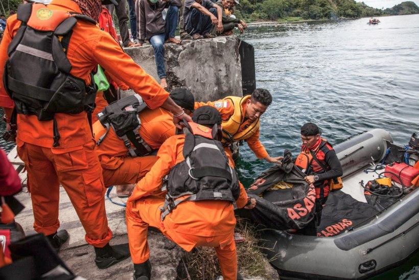 Indoneesia praamiõnnetuses jäi kadunuks 190 inimest