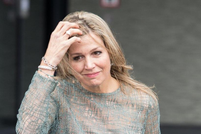 Hollandi kuninganna naasis pärast õe surma avalikkuse ette