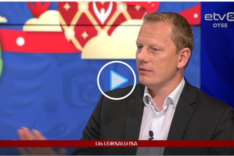 PILTUUDIS | Tohoh! Liis Lemsalu isa kutsuti ETVsse jalgpalli kommenteerima!