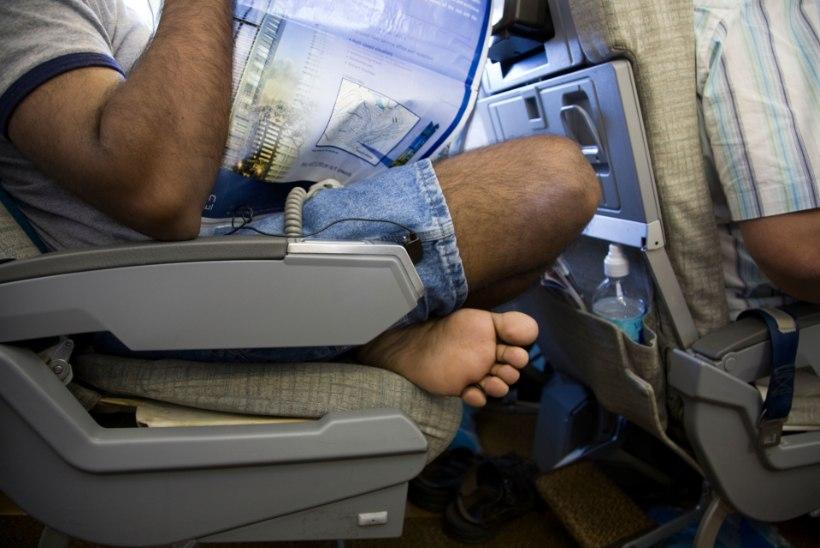 Lennureisijate kaks põhiprobleemi: toolitoksijad ja kasimatud kaasreisijad
