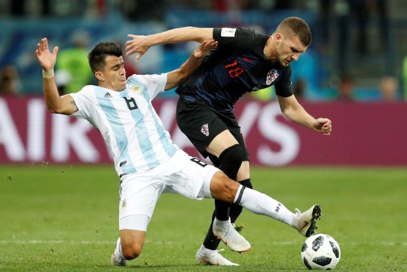 d356f9c602a NII SEE JUHTUS | Jalgpalli MM: Prantsusmaa ja Horvaatia pääsesid edasi,  Argentina sipleb mudas