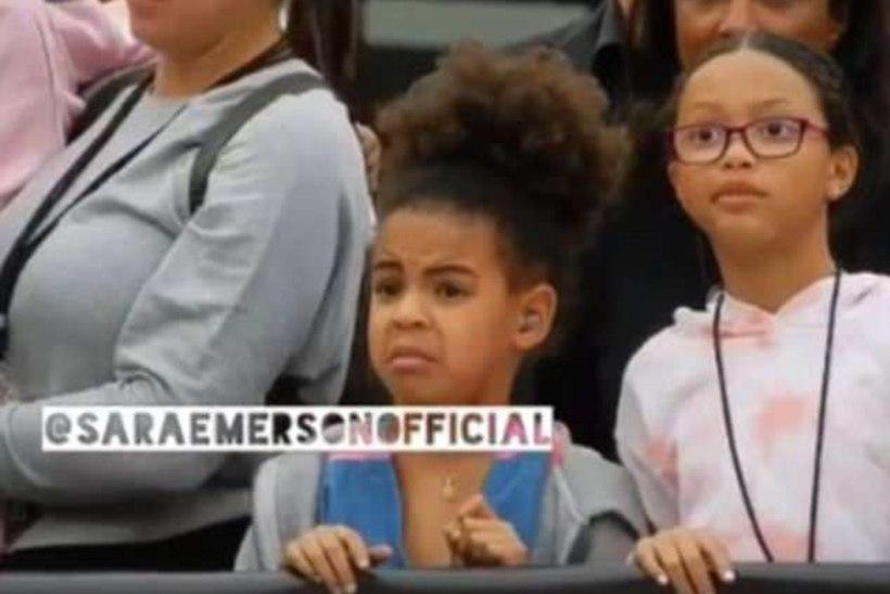 ÕUD JA TÜLGASTUS! Vaata Beyoncé tütre reaktsiooni ema-isa seksikale klipile!