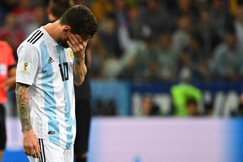 STATISTIKAPOMM! Messi kurb seeria jätkub