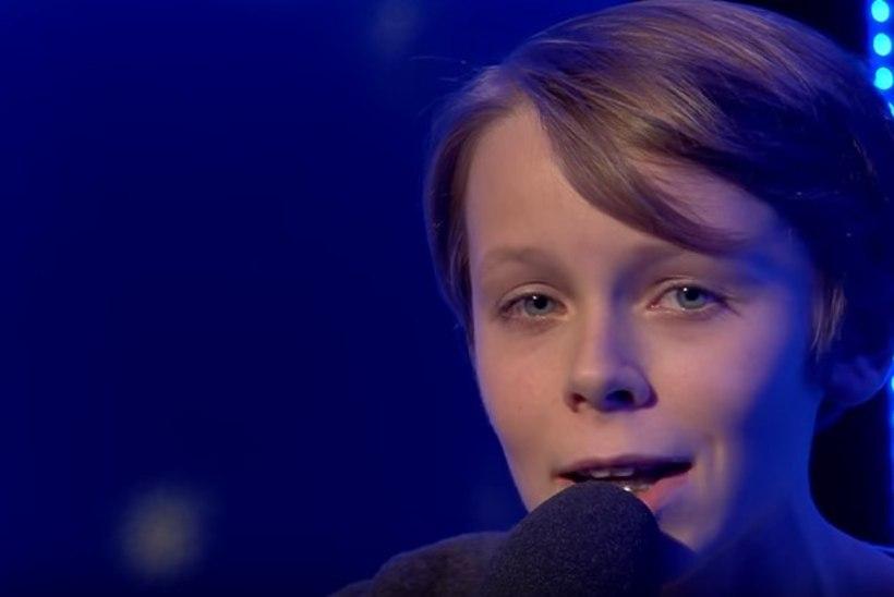 Mart Poomi 14-aastane poeg Andreas: olen alati tahtnud muusikat teha