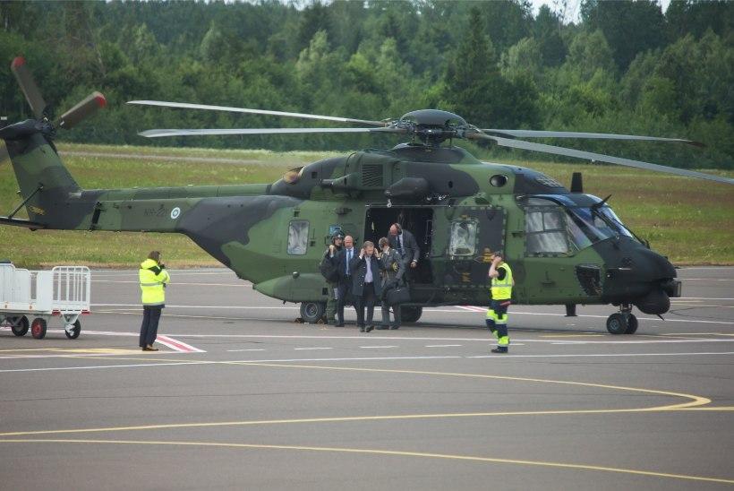 FOTOD | Kogunevad: kuue riigi presidendid saabuvad Tartusse