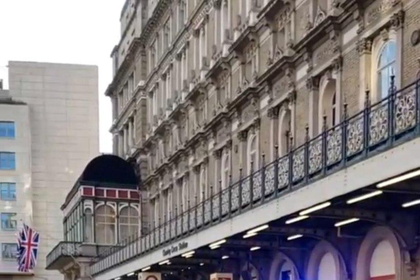 Londoni metroojaamas vahistati mees, kes väitis et tal on pomm