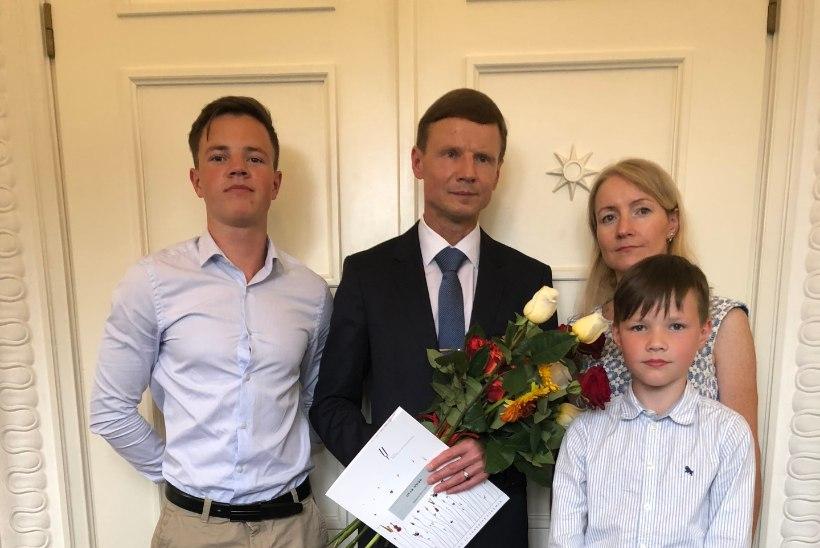FOTOD | Aivar Sõerd sai magistridiplomi ja andis Nigulistes orelikontserdi