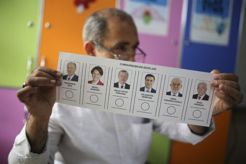 Kas Erdoğan jätkab riigipeana? Türgis toimuvad presidendivalimised